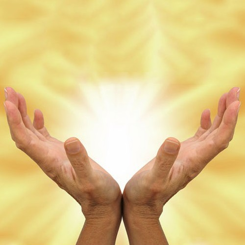 Reiki Therapy Hands